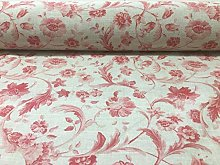 Vintage Hartley Toile French Linen Tearose