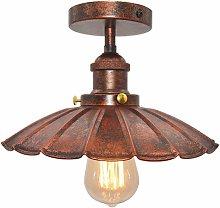 Vintage Industrial Ceiling Light Iron Metal