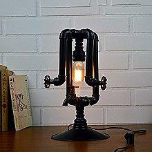 Vintage Industrial Retro Table Light Valve Facet