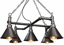 Vintage Industrial Water Pipe Ceiling Light