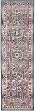 Vintage Kashan VKA05 Grey Multi Runner 71 x 244cm
