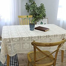 Vintage Lace Crochet Tablecloth For Coffee Dining