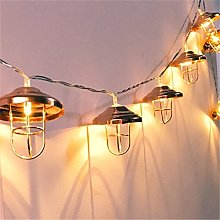 Vintage Lampshade String Lights,KINGCOO 3M/10FT 20