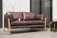 Vintage Leather Sofa Ariston