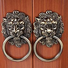 Vintage Lion Head Cabinet Knobs and Handles