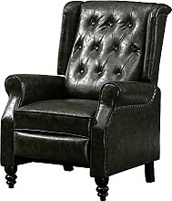 Vintage Living Room Recliner Chairs Single Sofa