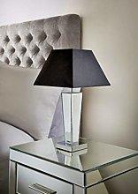 Vintage Modern Sparkle Gatsby Mirror Table Lamp