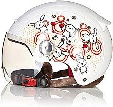Vintage Motorcycle Half Helmet Summer Retro Jet