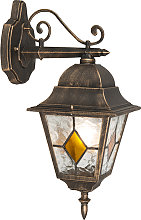 Vintage outdoor wall lantern bronze - Antigua