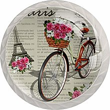 Vintage Paris Eiffel Tower Bicycle, Modern