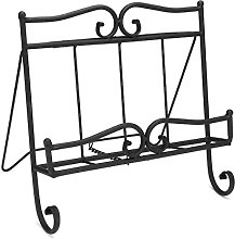 Vintage Style Antique Black Wrought Iron Recipe