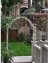 Vintage Style Garden Arbor, Metal Decorative Arch,