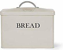 Vintage Style Grey Kitchen Food Storage Bread Bin
