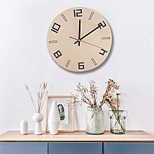 Vintage Style Wall Clock, Silent Non-Ticking Retro