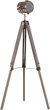 Vintage Tripod Floor Lamp Spotlight Height