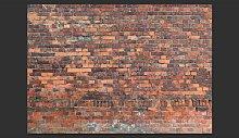 Vintage Wall (Red Brick) 280cm x 400cm Wallpaper