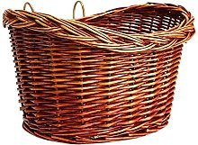 Vintage Wicker Bicycle Front Basket Bike Front