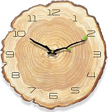 Vintage wood wall clock, antique wall clock