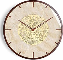 Vintage Wooden Round Wall Clock,Chinese Asian
