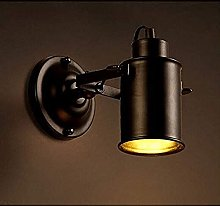 Vintage Wrought Iron Industrial Wind Wall Lamp