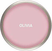 Vintro Paint   Satin Furniture Paint   Pink   Wood
