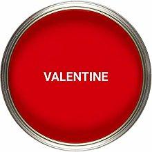 Vintro Paint   Satin Furniture Paint   Red   Wood