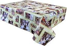 Vinyl Pvc Tablecloth 2 metres (200x137cm) Country