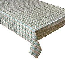 Vinyl Pvc Tablecloth 3 metres (300x137cm) Green