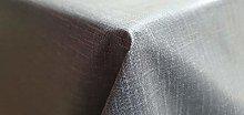Vinyl Pvc Tablecloth Grey Linen 2 metres