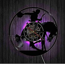 Vinyl record wall clock Cowboy Wall Clock Wild