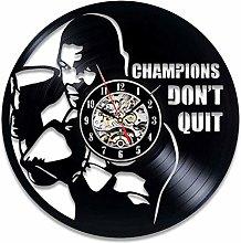 Vinyl Record Wall Clock Quartz Silent boxing