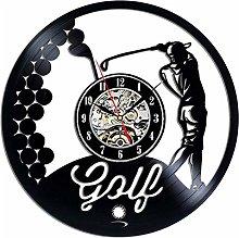 Vinyl Record Wall Clock Quartz Silent golf