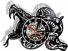Vinyl Record Wall Clock Quartz Silent snake