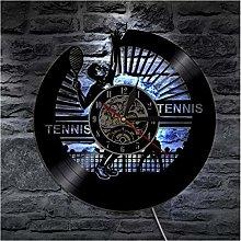 Vinyl Record Wall Clock Quartz Silent tennis