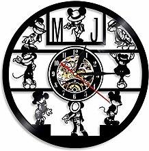 Vinyl Record Wall Clock, Singer Michael Jackson