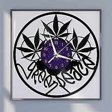 Vinyl record wall clock wall clock kitchen home