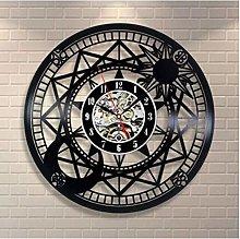 Vinyl Wall Clock Astronomy Art Vinyl Record Wall
