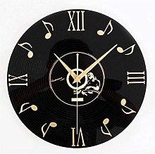 Vinyl Wall Clock Audio Date Vinyl Wall Clock