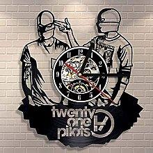 Vinyl Wall Clock Creative Vinyl Clock Retro Quartz