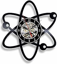 Vinyl Wall Clock Gifts for Scientists Physicists