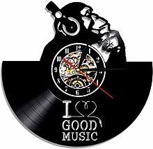 Vinyl Wall Clock Gorilla Wall Clock Music Gorilla