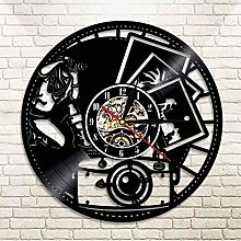 Vinyl Wall Clock Photography Vinyl Record Wall
