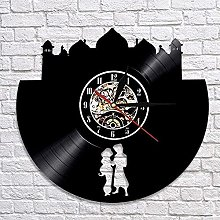 Vinyl wall clock vinyl record wall clock magic