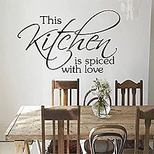 Vinyl Wall Stickers Kitchen Cafe Art Wallpaper