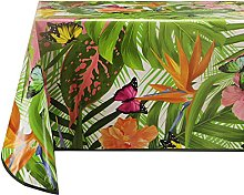 Vinylla Butterfly Easy Wipe Clean Vinyl Tablecloth