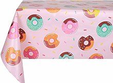Vinylla Doughnuts Easy Wipe Clean PVC Tablecloth