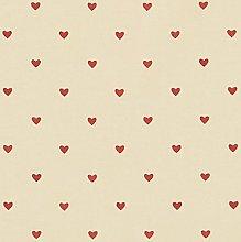 Vinylla Heart Vinyl Coated Cotton Easy Wipe Clean