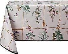 Vinylla Lavender Easy Wipe Clean Vinyl Tablecloth