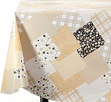 Vinylla Patchwork Easy Wipe Clean PVC Tablecloth