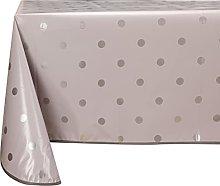 Vinylla Polka Dot Grey Easy Wipe Clean Vinyl